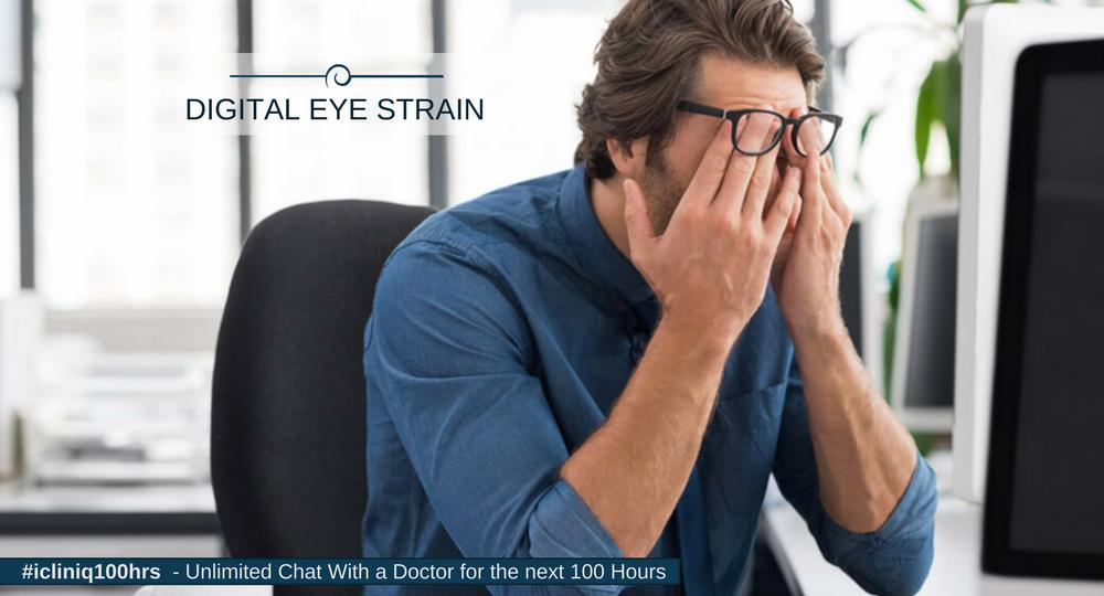Image: 5 Tips for Digital Eye Strain