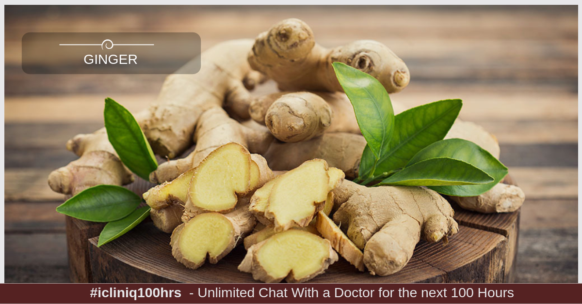 Image: 6 Ways in Which Ginger Is Good For Your Health