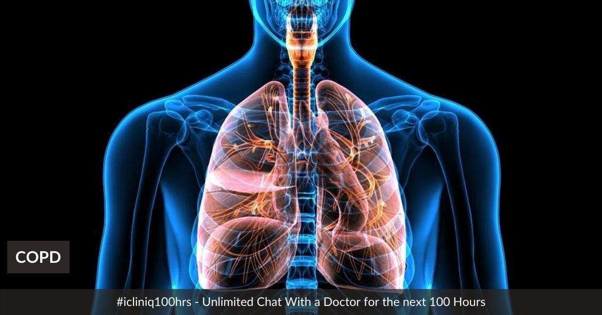 Image: COPD - Chronic Obstructive Pulmonary Disease