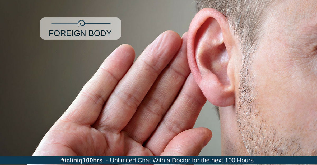 Image: Dealing with Foreign Body Inside the Ears