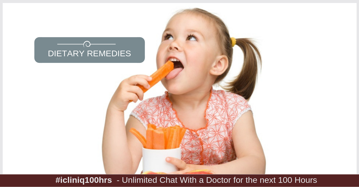 Image: Dietary Remedies to Treat Constipation in Kids