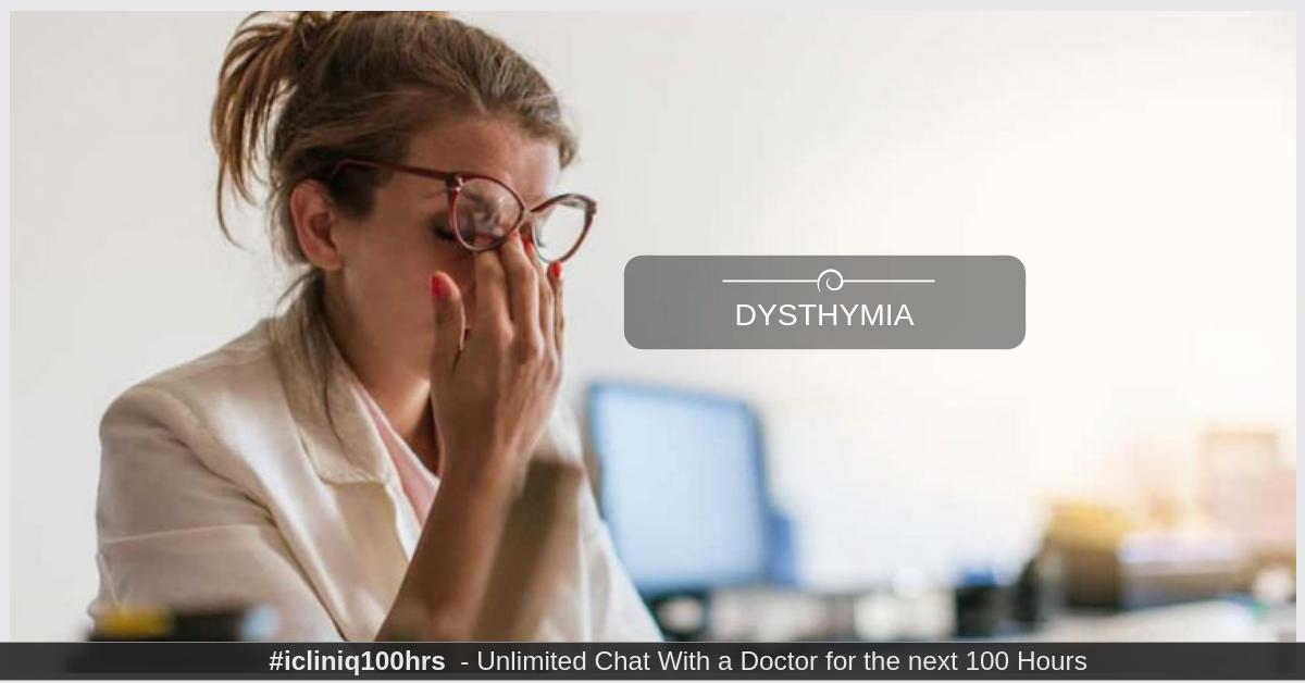 Image: Dysthymia
