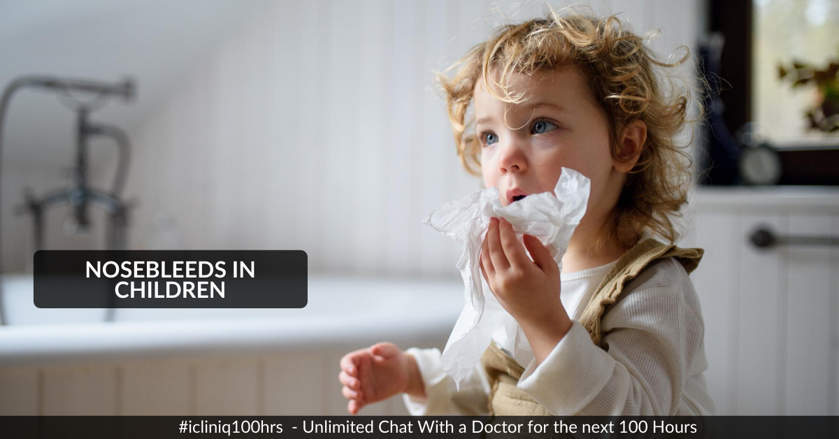 Image: What to Do If You or Your Child Suddenly Start Bleeding from the Nose?