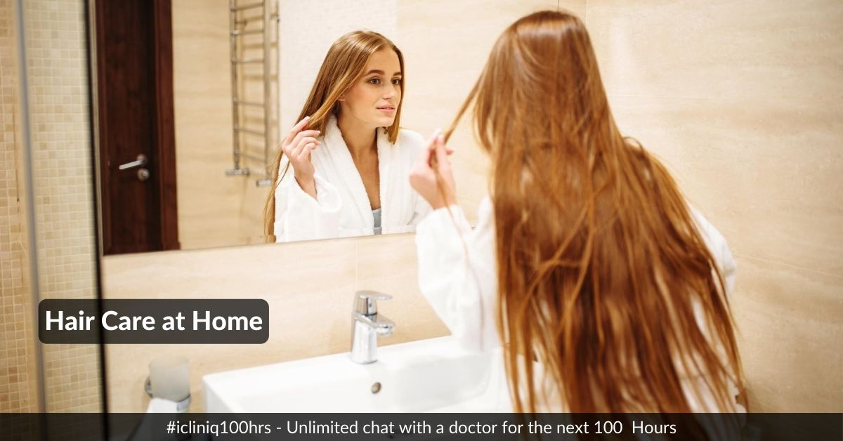 Image: Hair Care at Home