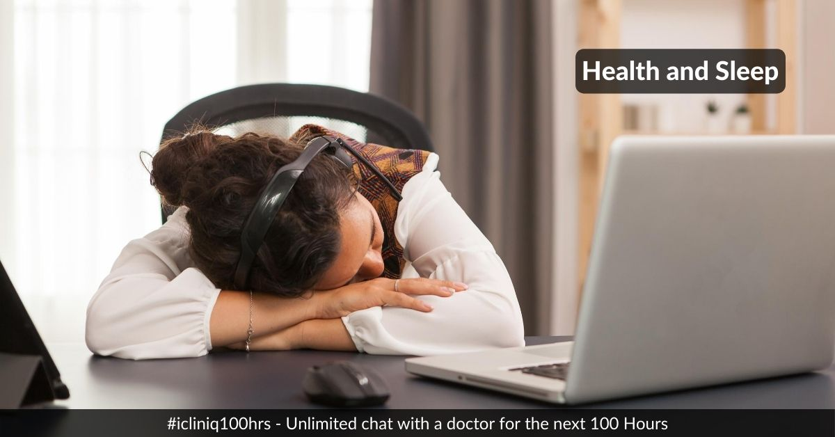 Health and Sleep: Two Interconvertible Words!!!