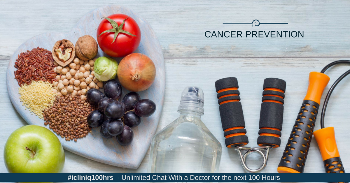 Image: Healthy Lifestyle to Prevent Cancer