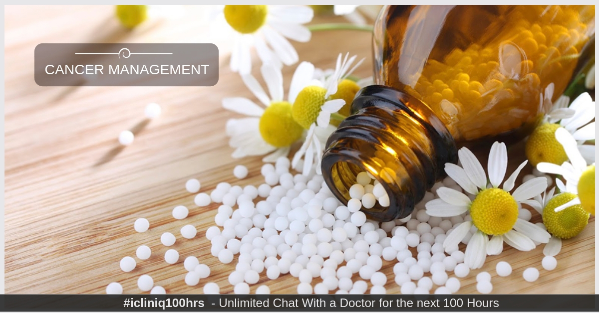 Image: Homeopathic Treatment for Cancer Management