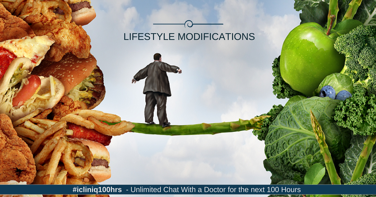 Lifestyle Modifications in Hypertensive Patients