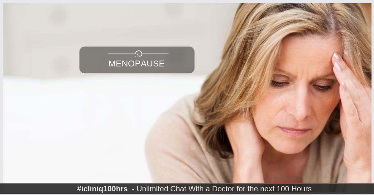 Image: Menopause