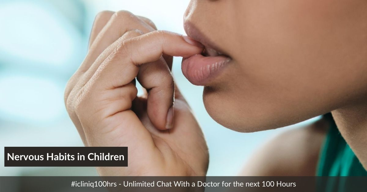 Nervous Habits in Children: Homeopathic Approach