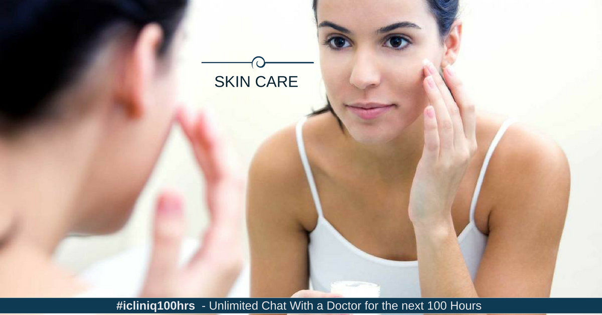 Image: Skin Care and Use of Cosmetics in Acne Patients