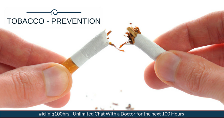 Image: Tobacco -  Prevention of Tobacco dependence