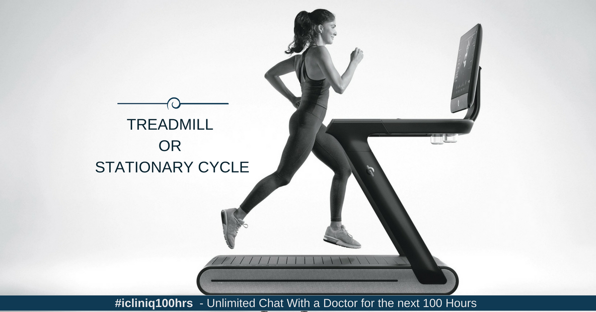 Image: Treadmill or Stationary Cycle: Which Is Better for Aerobic Exercise?