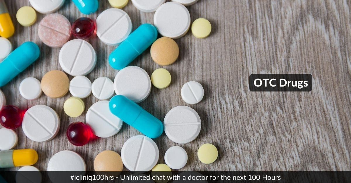 Be Cautious When Using OTC (Over The Counter) Drugs