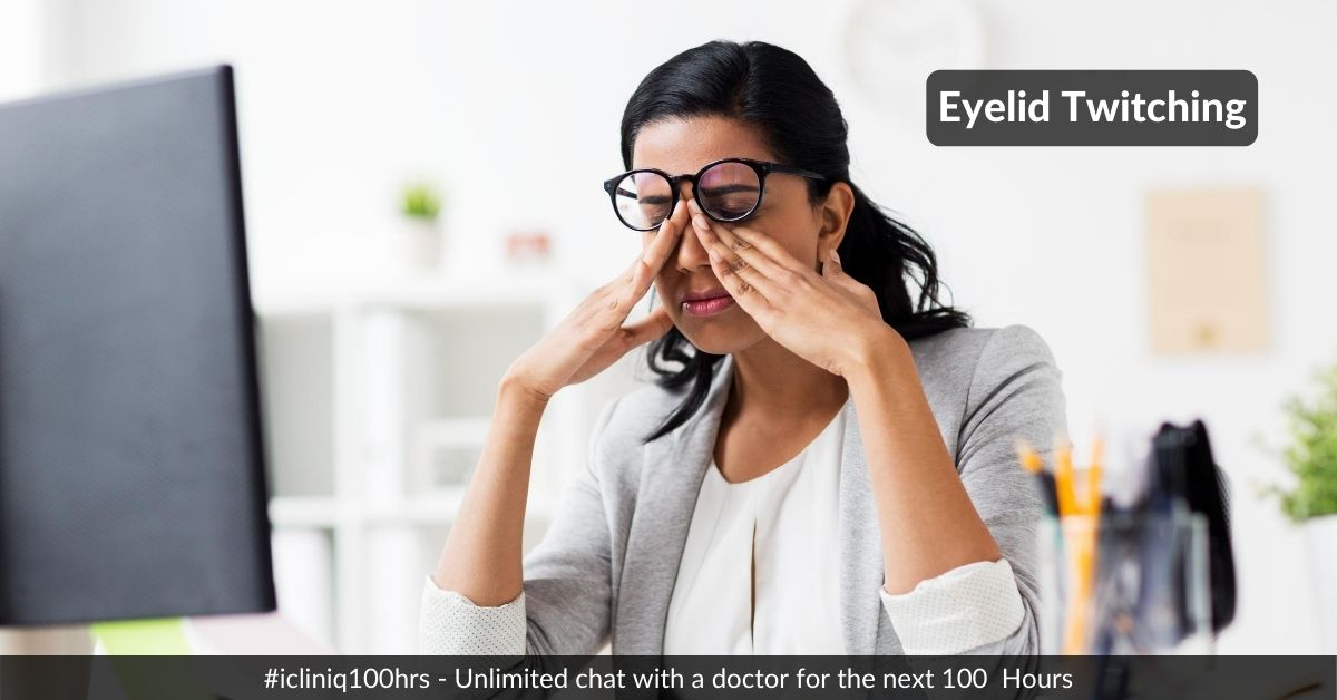 Image: Why Is My Eyelid Twitching?