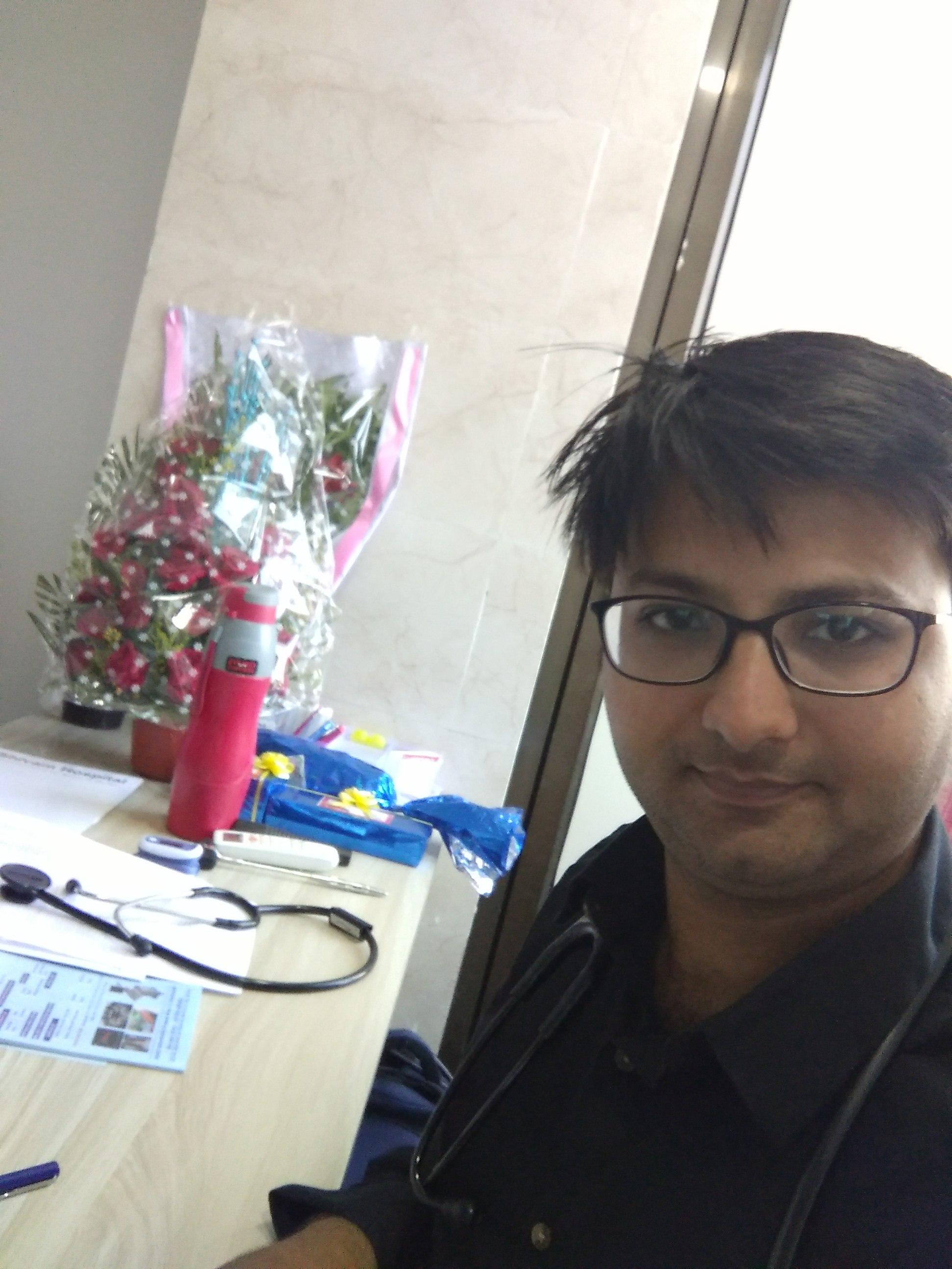 Dr. Mit Dharsandiya