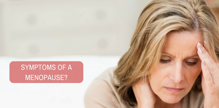 Image: Are these symptoms of a menopause?
