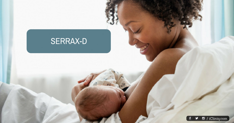 Image: Can my wife use Serrax-D while breastfeeding?