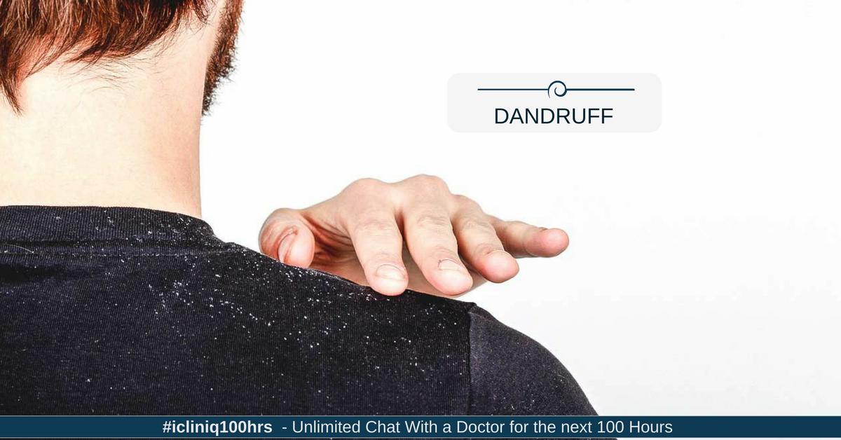 Image: How do I control dandruff and hair fall?