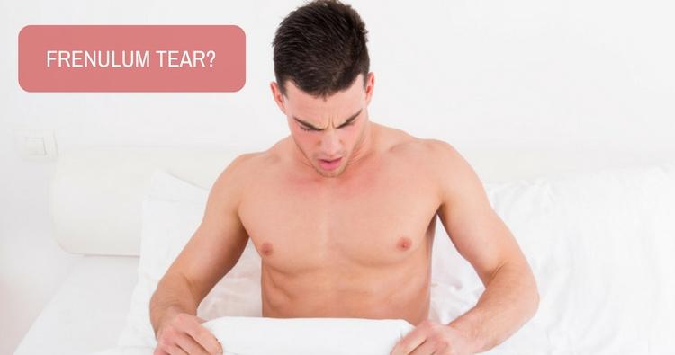 Image: How long will it take to heal frenulum tear?