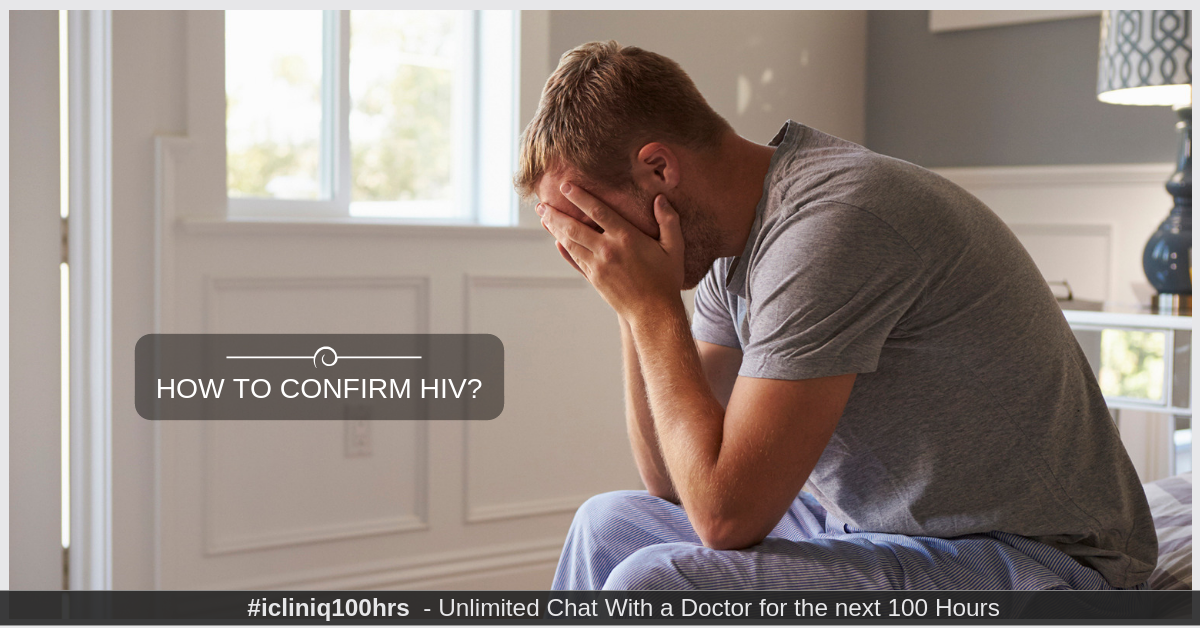 Image: How to confirm HIV?
