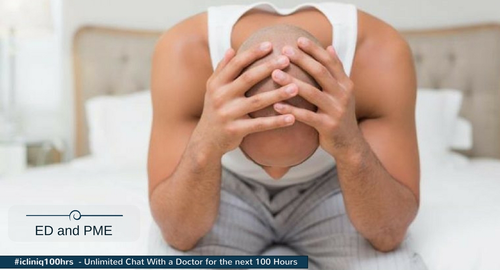 Image: How to get treated for erectile dysfunction and premature ejaculation?