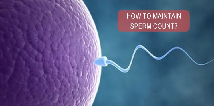 Image: How to maintain sperm count through treatment?