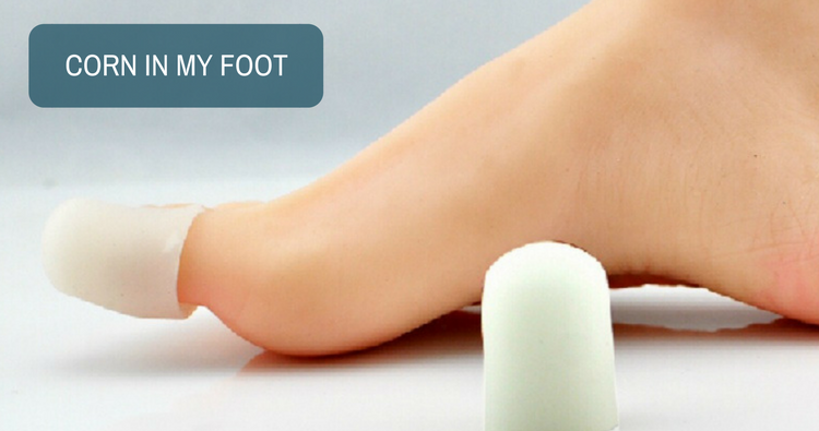 Image: I have a corn in my foot.  Can corn cap remove that?