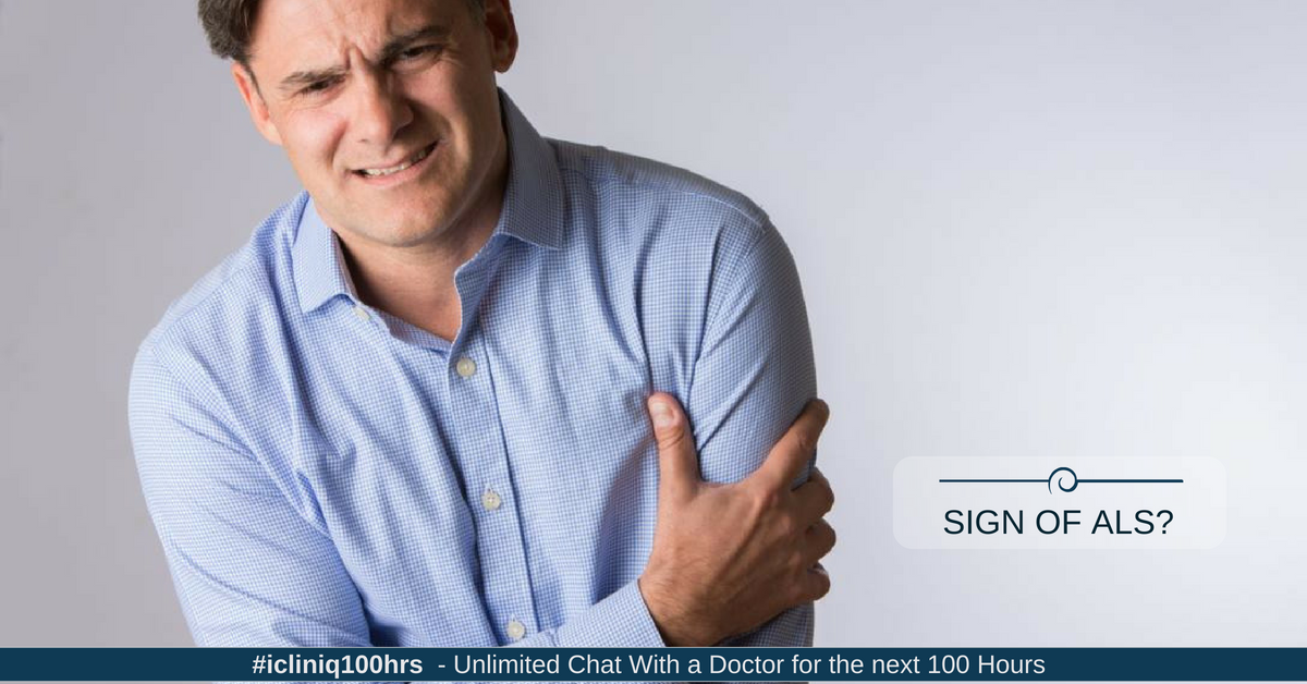 What causes left arm twitching?
