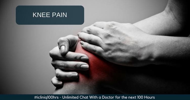 I suspect my knee pain as calcium deficiency. Please advise.