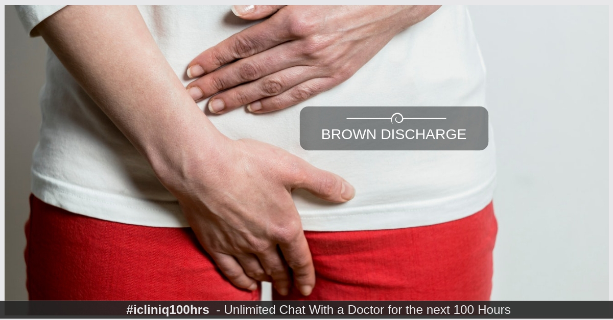 Image: Is brown discharge during pregnancy a reason to panic about miscarriage?