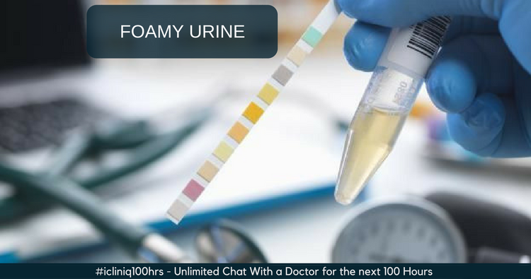 Is it normal to have foamy urine?