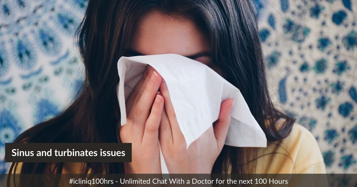 Is it possible to have breathing difficulties because of sinus and turbinates issues?