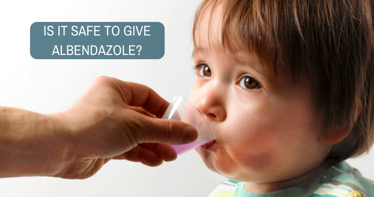 Is it safe to give Albendazole twice in a short interval?