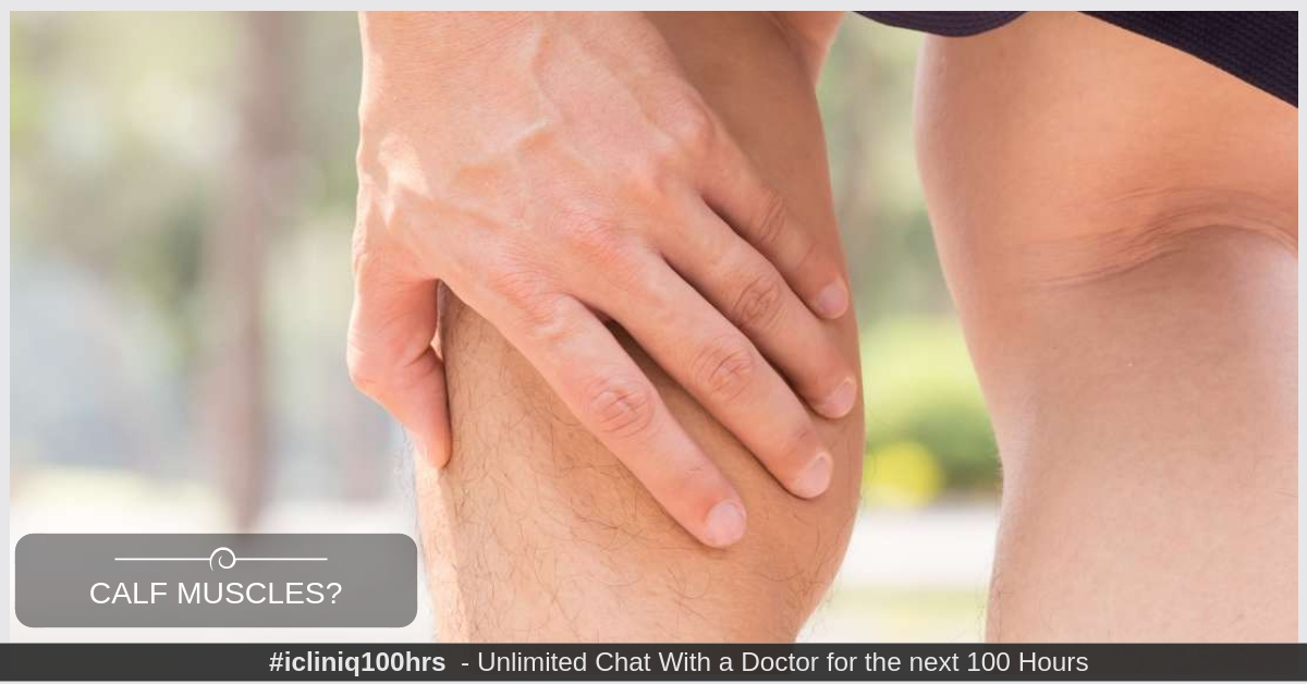 Image: Is there any way to avoid tightening of calf muscles?