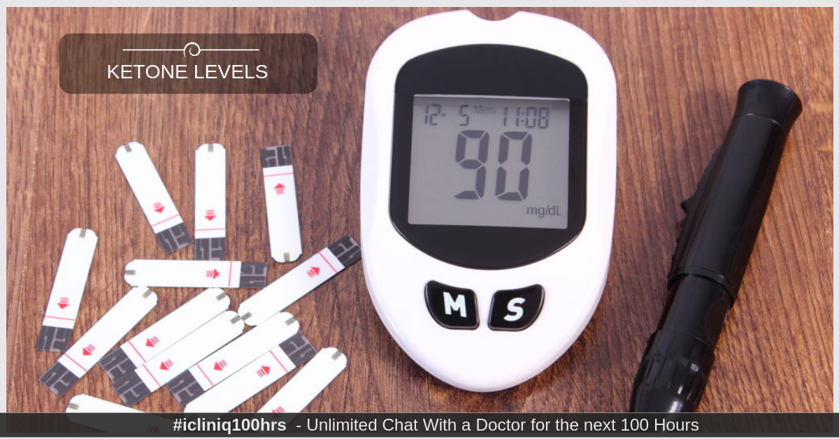 Image: Is there any way to reduce ketone levels in a diabetic patient?