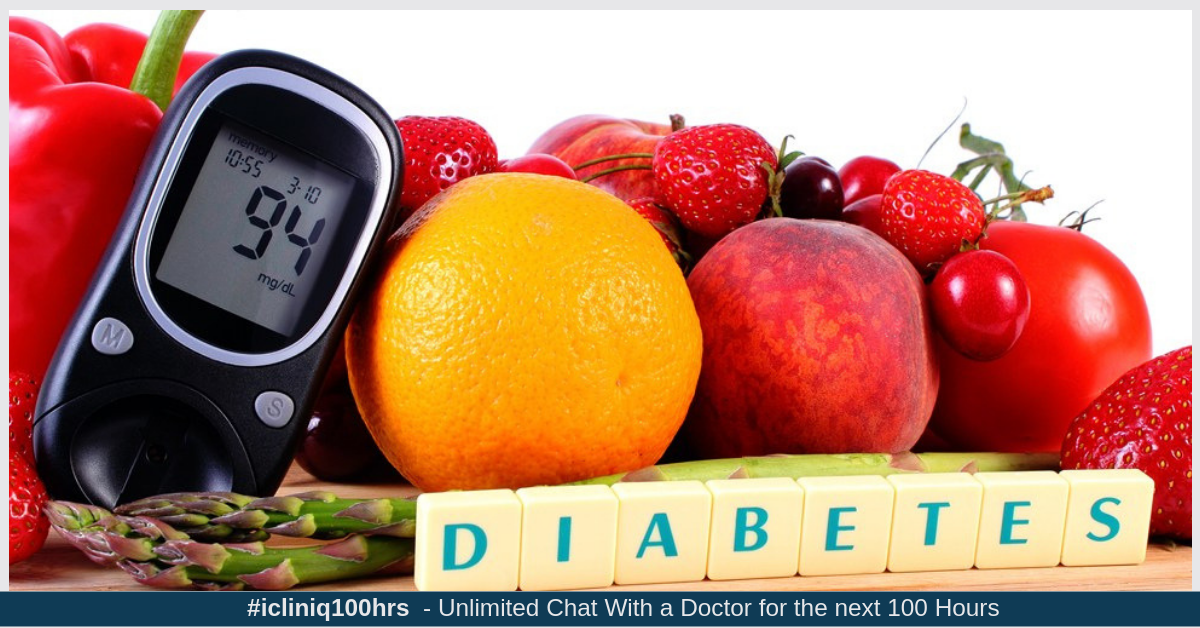Image: My father is a diabetic. What kind of fruits can he have?