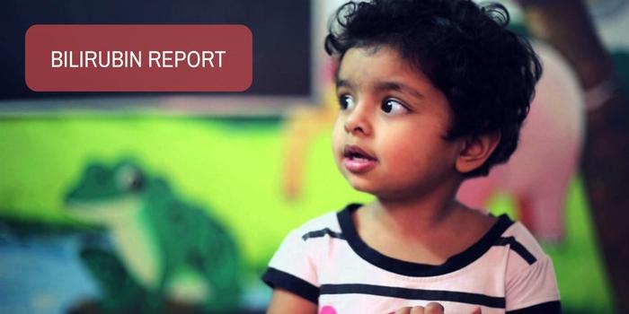 Image: Please check my son's bilirubin report and advise us.