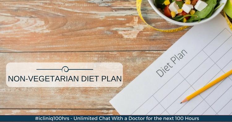 Please suggest a non-vegetarian diet plan for diabetes.