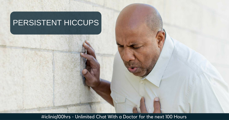 How to treat constant hiccups