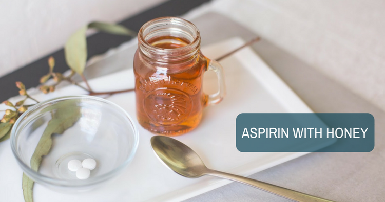 Shall I take Aspirin with honey to induce period?