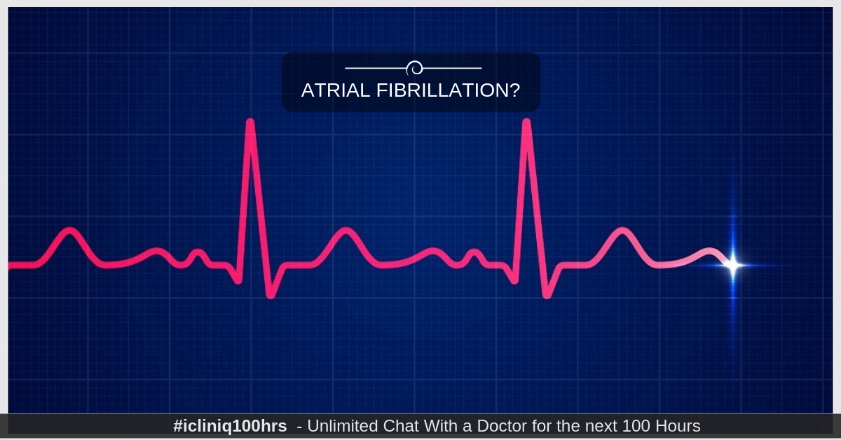 Image: What are the symptoms of atrial fibrillation?