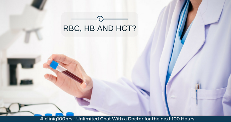 Image: What can be the reason for elevated RBC, Hb and Hct?