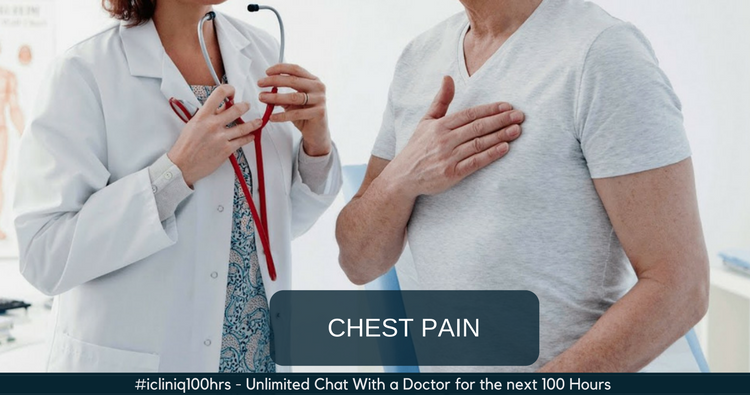 What can cause left-sided chest pain while breathing?
