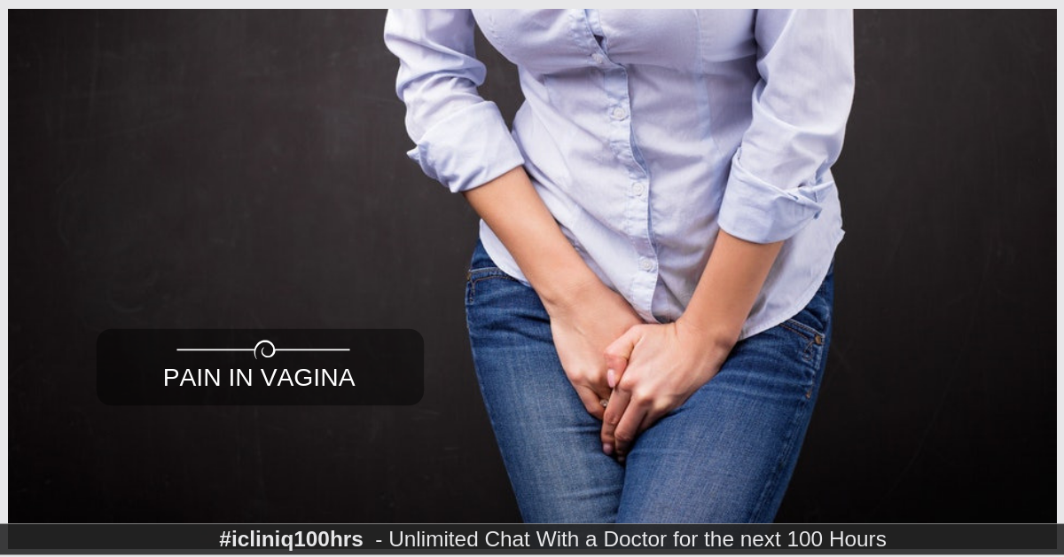 Image: What is causing sharp pain in vagina after urinating?