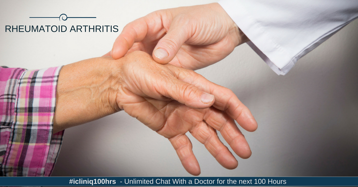 Image: What is the treatment for rheumatoid arthritis?