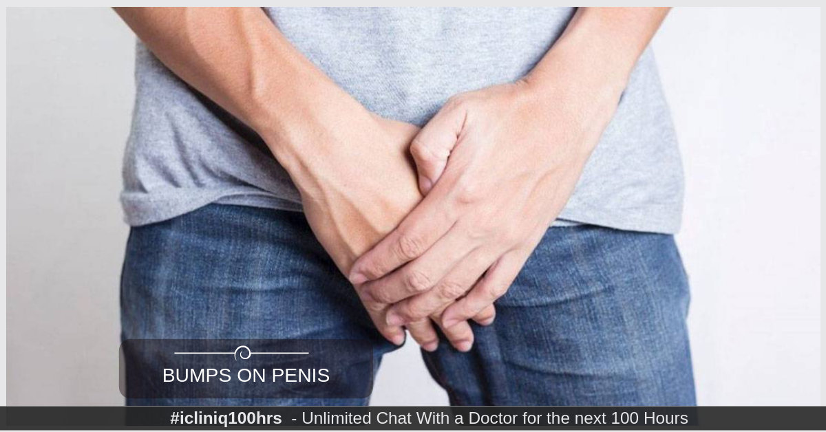 Image: What treatment can I get for the painless bumps present on my penis?