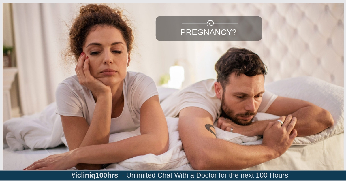 Will foreplay with fingering after touching the penis tip lead to pregnancy?